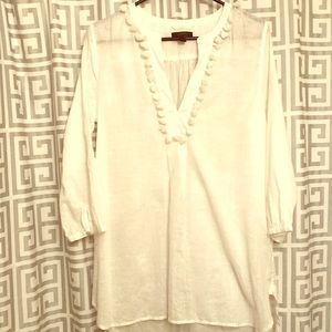 JCREW Bathing suit cover-up tunic